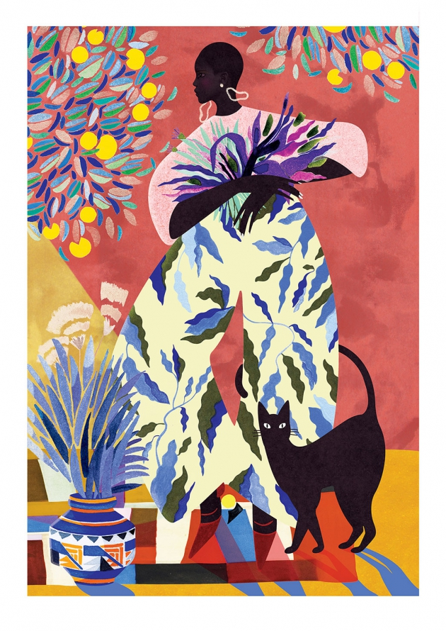 Léa Morichon - Jardin indien