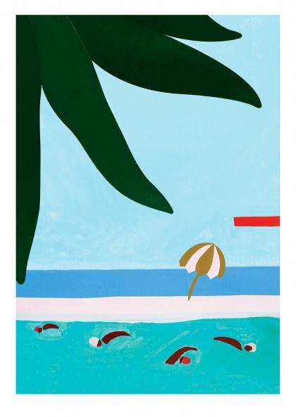 Léa Morichon - Les nageurs