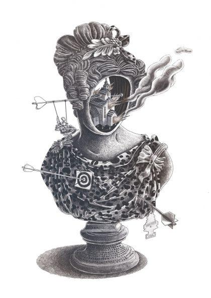 Jean-Michel Ouvry - Buste 4