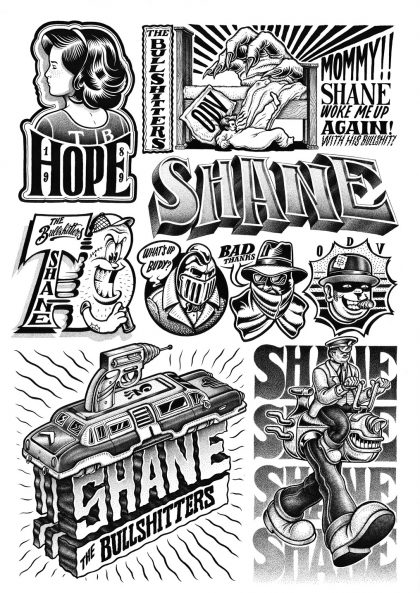 Shane - Black Book Elements