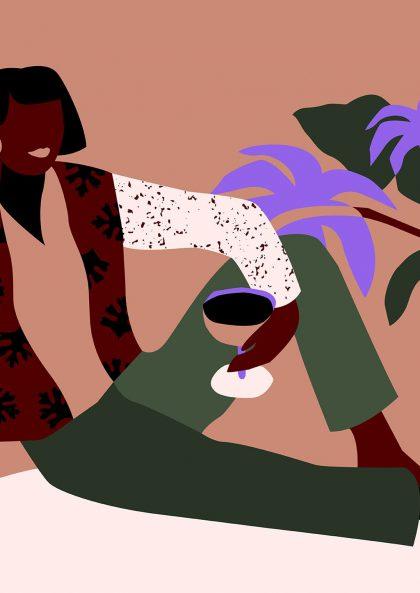 Alexandra de Assunçao - Tomber le rideau