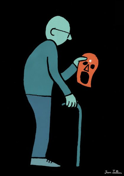Jean Jullien - Old Hero