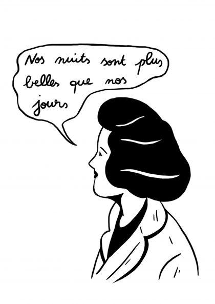 Cloé Bourguignon Nos nuits