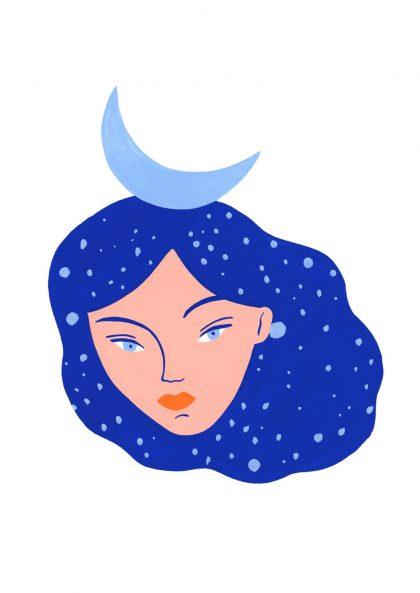 Agathe Singer Lune