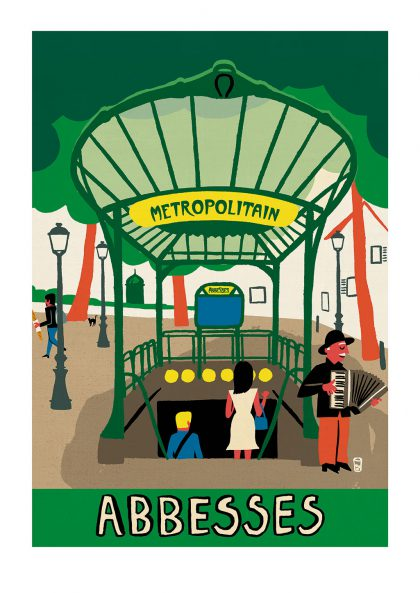 Paul Thurlby - Abbesses