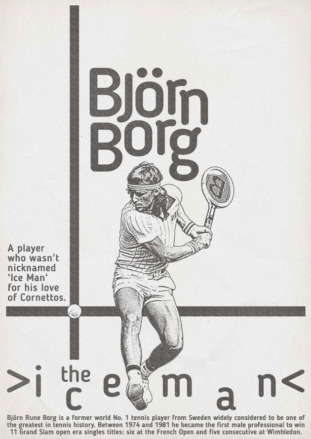 Zoran Lucic - Bjorn Borg 1