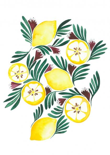 Emilie Bouguereau - Citrons