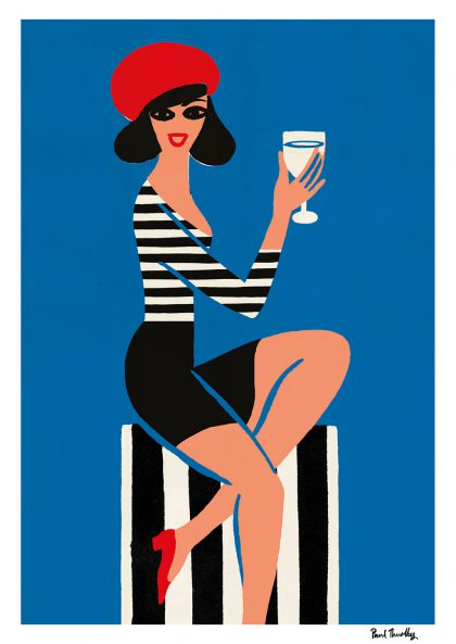 Paul Thurlby Column Girl