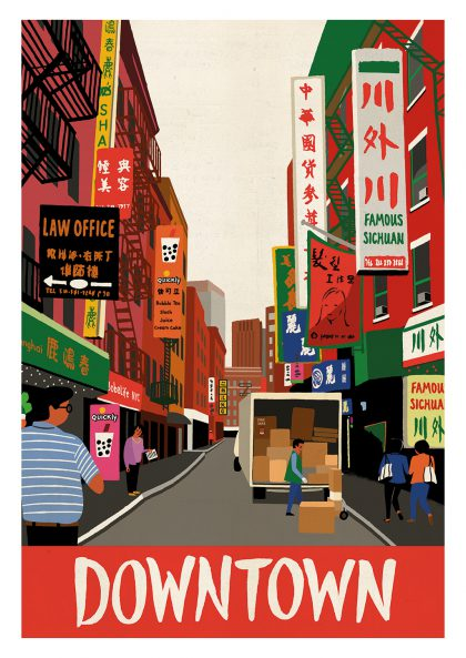 Paul Thurlby - Downtown