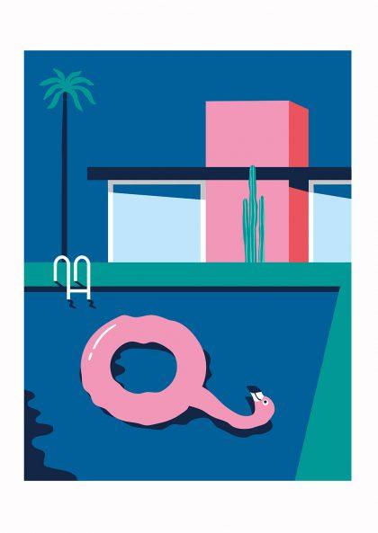 Quentin Monge - Flamingo Hangover