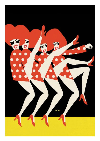 Paul Thurlby - Folies Bergere