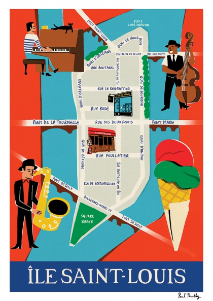 Paul Thurlby - Ile Saint Louis