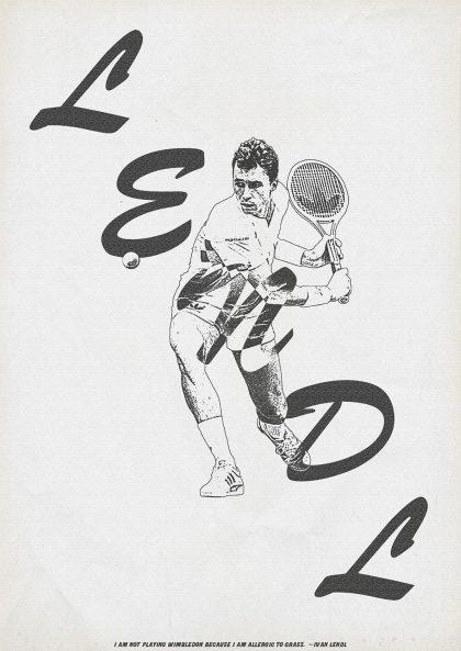 Zoran Lucic - Ivan Lendl 1