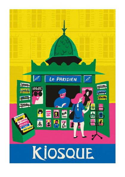 Paul Thurlby - Le Kiosque