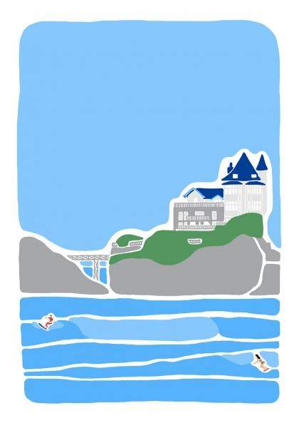 Blandine Lamy - La côte des surfers