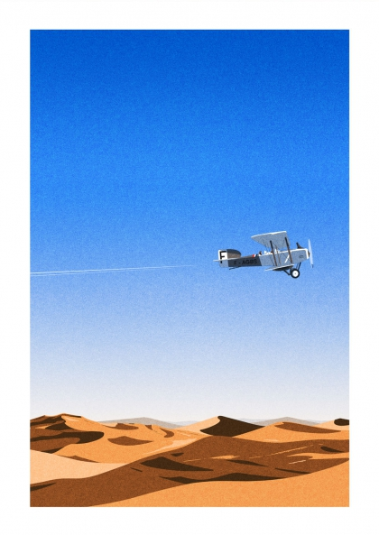 Julie Guillem - L'aéropostale, Sahara