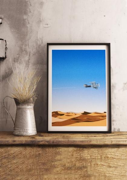 Julie Guillem L'aéropostale, Sahara