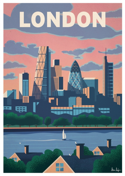 Alex Asfour - London Skyline