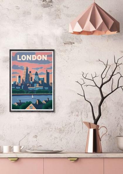 Alex Asfour London Skyline
