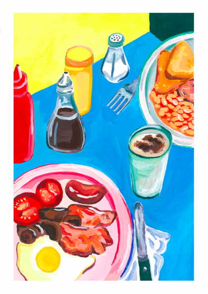 Marion Poujade - Bacon and breakfast