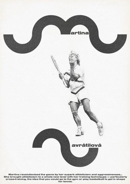 Zoran Lucic - Martina Navratilova 1