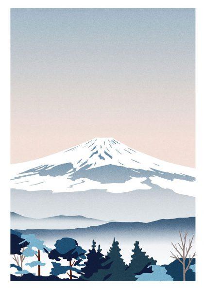 Julie Guillem - Mont Fuji