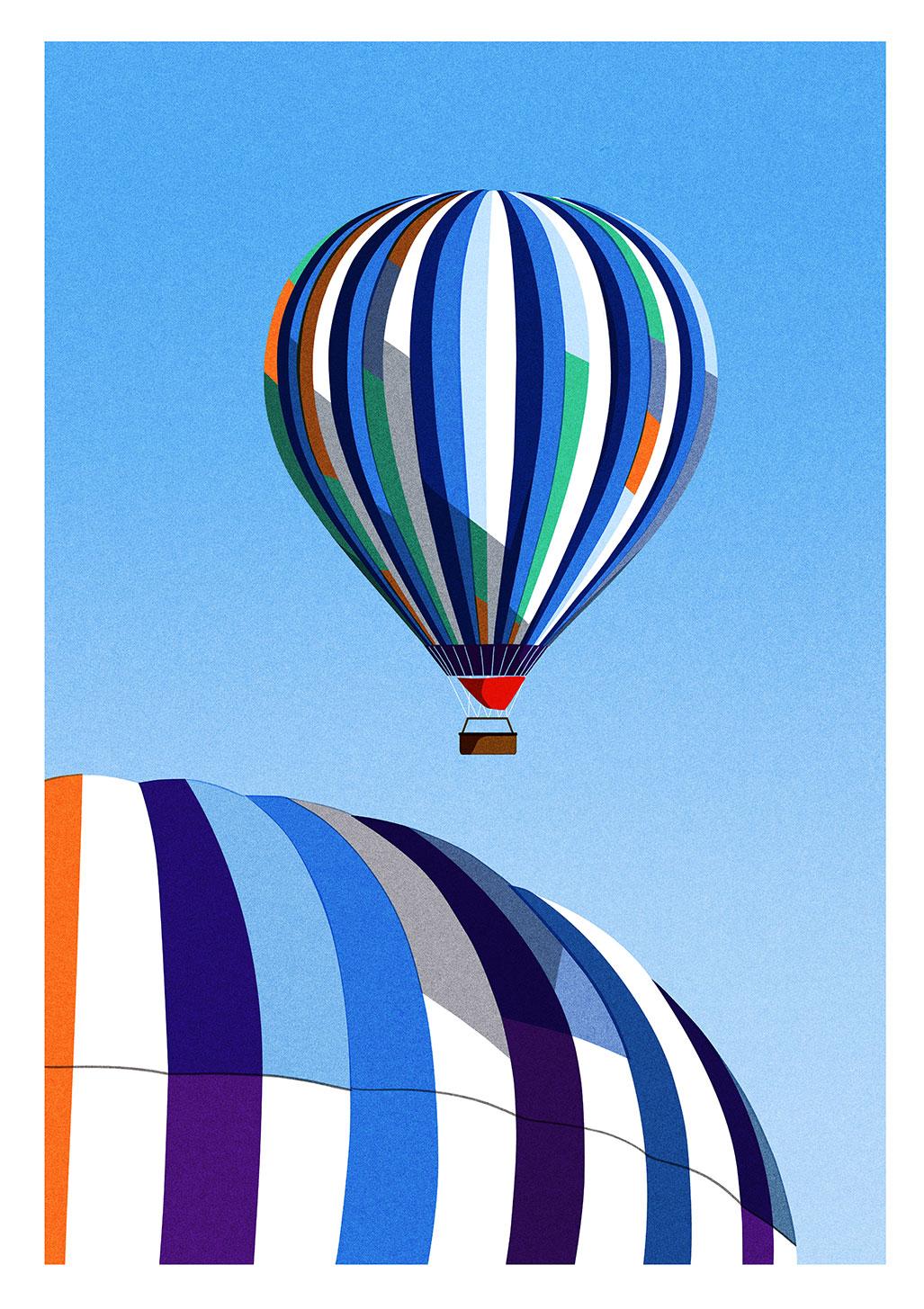 Julie Guillem Affiche Montgolfiere 3 Sergeant Paper