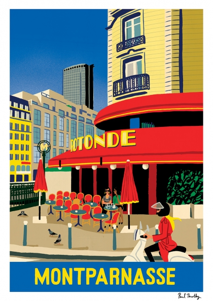 Paul Thurlby - Montparnasse