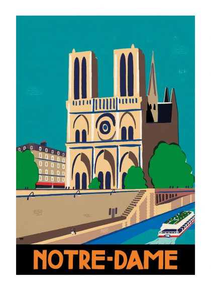 Paul Thurlby - Notre Dame de Paris
