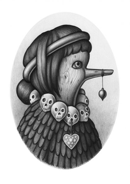 Amandine Urruty - Oiseau Bois