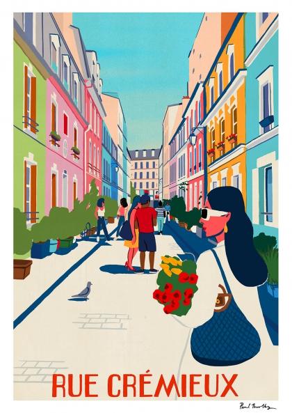 Paul Thurlby - Rue Crémieux