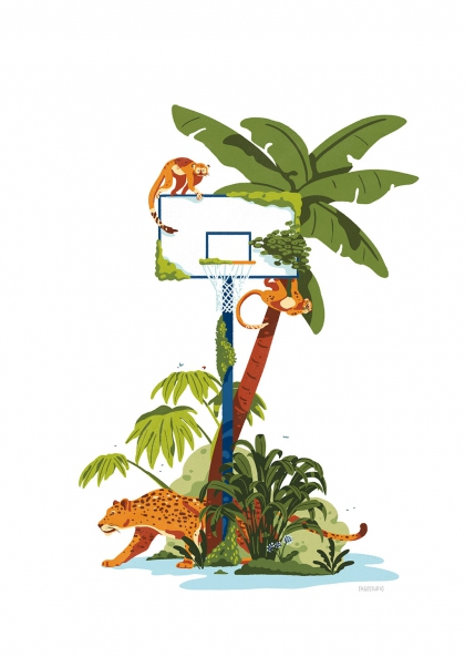 FagoStudio - Palmier de basket