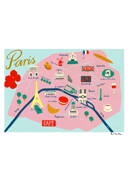 Paul Thurlby - Map de Paris