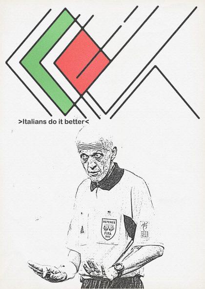 Zoran Lucic - Pierluigi Collina