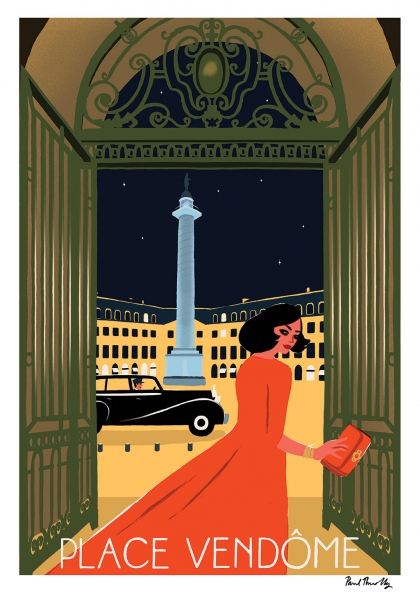 Paul Thurlby - Place Vendôme