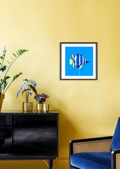Julie Guillem Poisson bleu