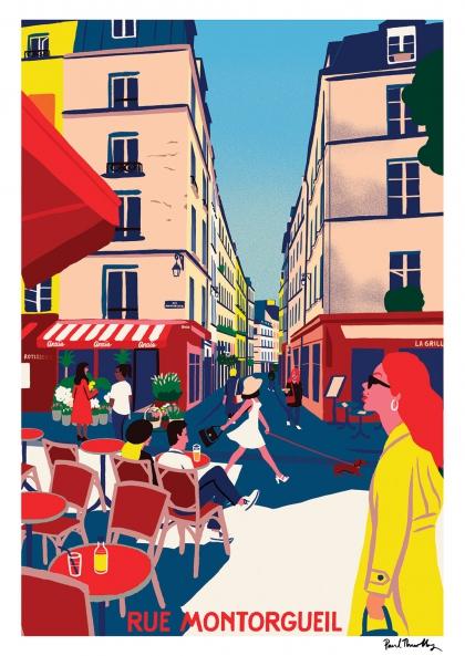 Paul Thurlby - Rue Montorgueil