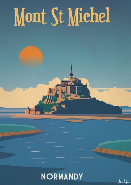Alex Asfour - Mont Saint-Michel