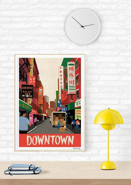 Paul Thurlby Downtown