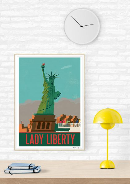 Paul Thurlby Lady Liberty