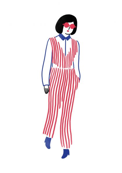 Agathe Sorlet - Stripes girl 2