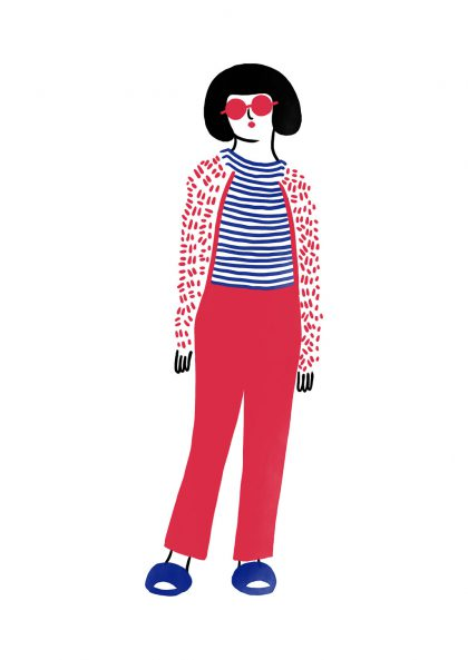 Agathe Sorlet Stripes girl 3
