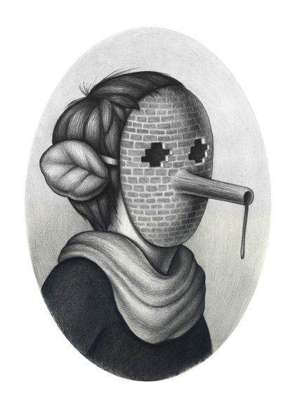 Amandine Urruty - Tête brique