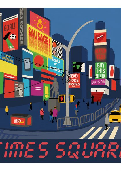 Paul Thurlby - Times Square