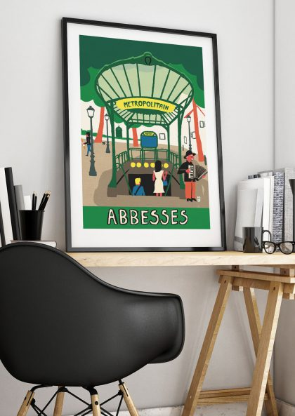 Paul Thurlby Abbesses