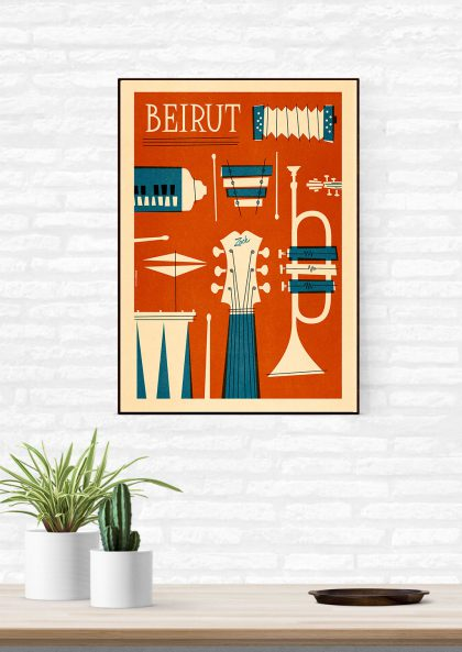 Mathieu Persan Beirut band
