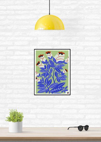 Agathe Singer - Blue Plants