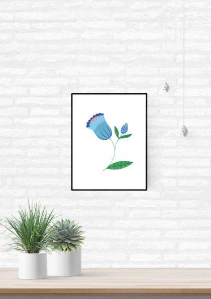 Agathe Singer - Blue Flower