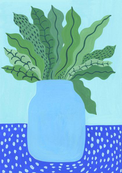 Agathe Singer - Blue Vase