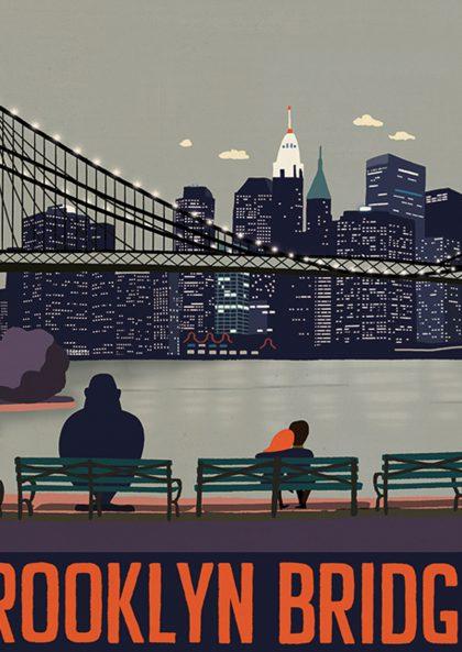 Paul Thurlby Brooklyn Bridge
